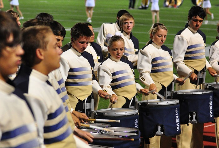 Drumline Raises Spirit, Forges Friendships