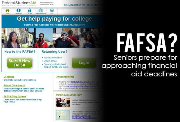 FAFSA Deadline Approaches
