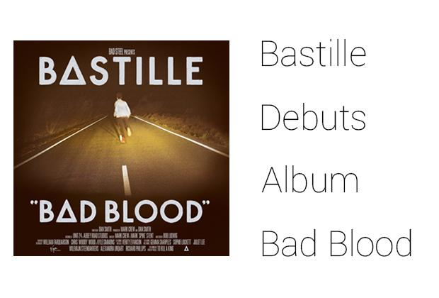 Bastille debuts album 'Bad Blood'