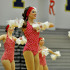 Juliette Ochoa dances with her fellow drill team in their showcase.