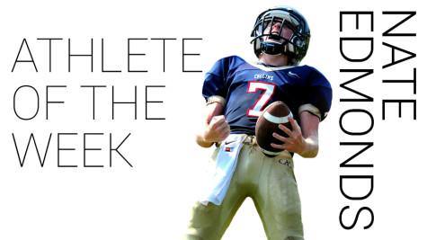 Nate Edmonds – Athlete of the Week