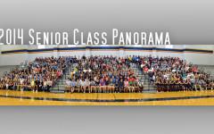 2014 senior class panorama