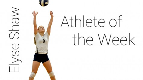 Elyse Shaw – Athlete of the week
