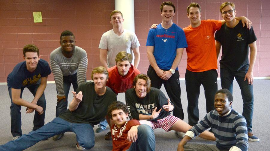 The contestants of the 'Mr. Collins' pageant have been preparing for weeks on end for the show.