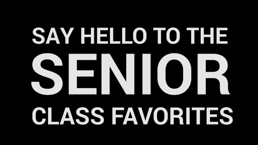 Senior Class Favorites of 2015