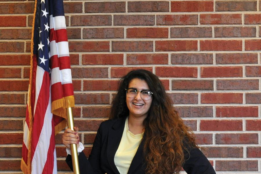 """Senior Basseema Abouassaad is grateful for being nominated to attend the presidential inauguration. """"Its something I""""ve wanted to do since the 2008 election,"""" Abouassaad said."""