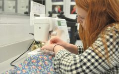 Sewing Her Way Through Senior Year