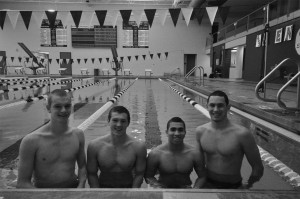 Freestyle Relay Team Takes First at State
