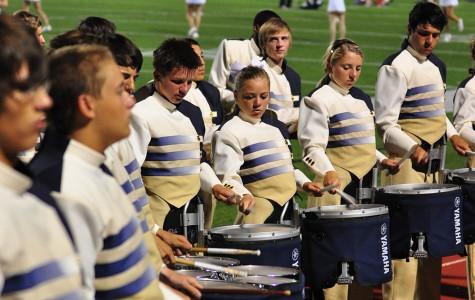 Drumline Raises Spirit, Forges Friendships