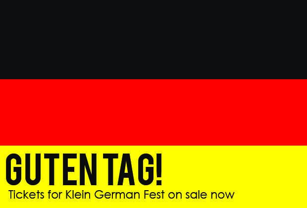 Tickets for Klein German Fest on Sale Now