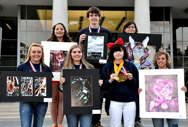 Art Students Advance to State in VASE
