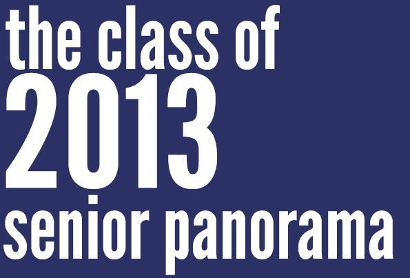 2013 senior class panorama
