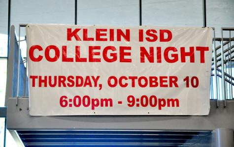 Klein Collins hosts annual College Night.