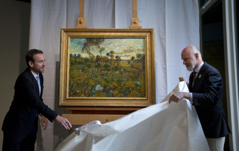 Sunset at Montmajour: new Van Gogh painting discovered