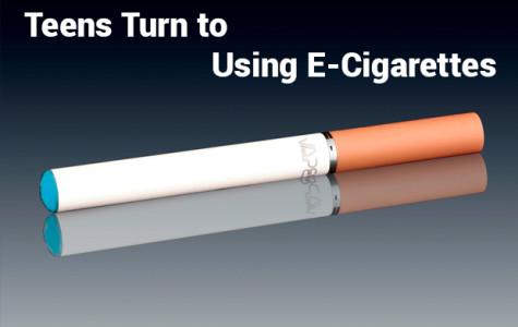 Teens turn to using E-Cigarettes
