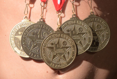 Making his mark: swimmer sets standards