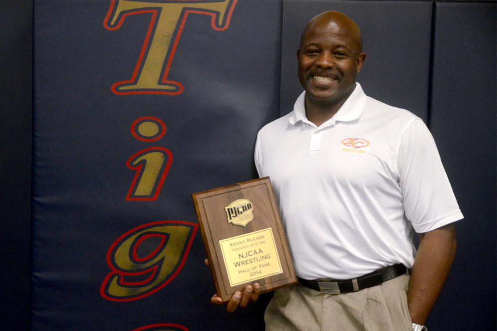Wrestling Coach Kenny Rucker feels his hard work has paid off after being inducted into the National Junior College Wrestling Hall of Fame.