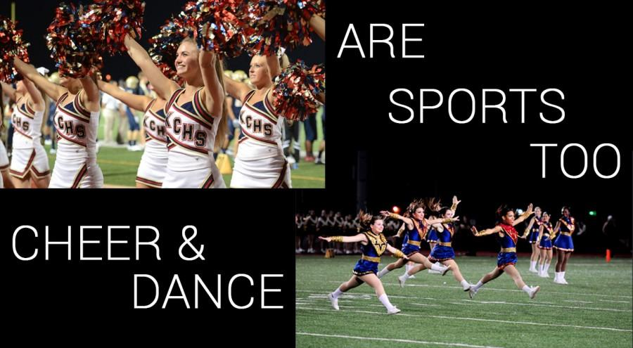 While some argue dancing and cheerleading are not sports, hours of practice and dedication are put into perfecting the routines.