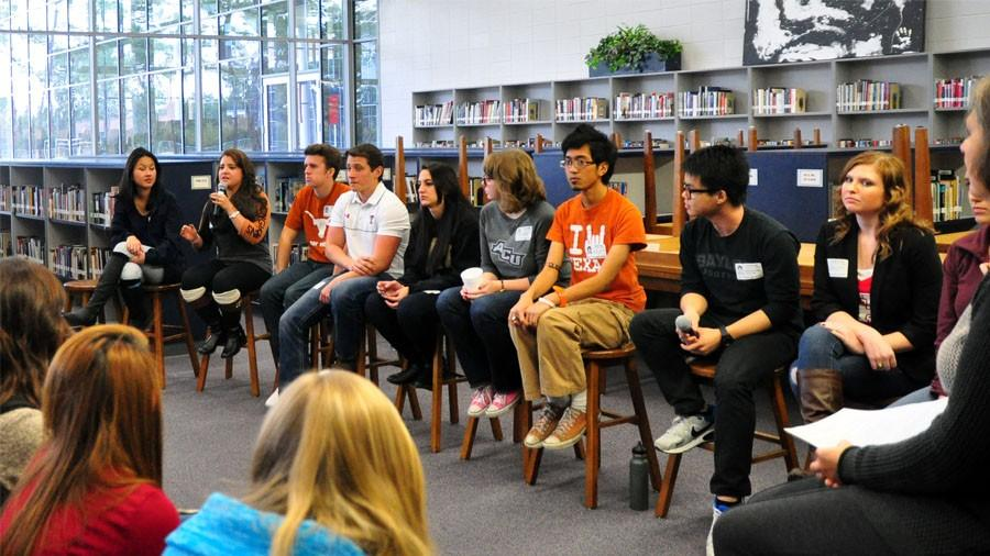In hopes of helping current seniors, several alumni returned to share their stories of their college experience and offer advice.
