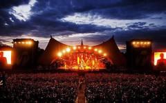 Music festival mayhem