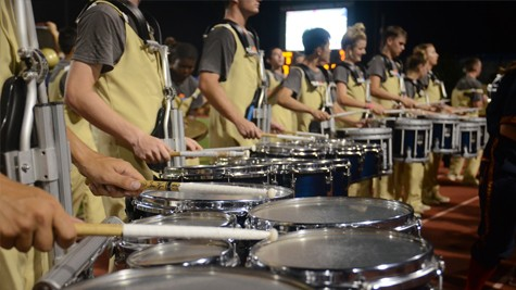 Drumming up school spirit