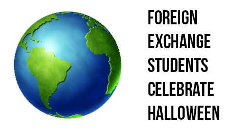 Foreign exchange students celebrate Halloween