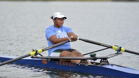 Rowing her way to success