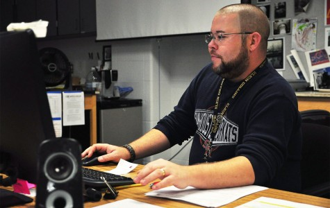 Art Teacher Doubles as Disc Jockey