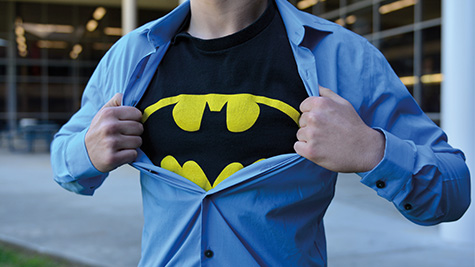 Superhero shows such as