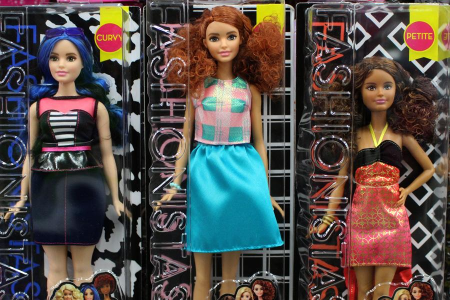 Being sold in major retail outlets such as Target and Walmart, the new line of Barbies are approximately $10 each.