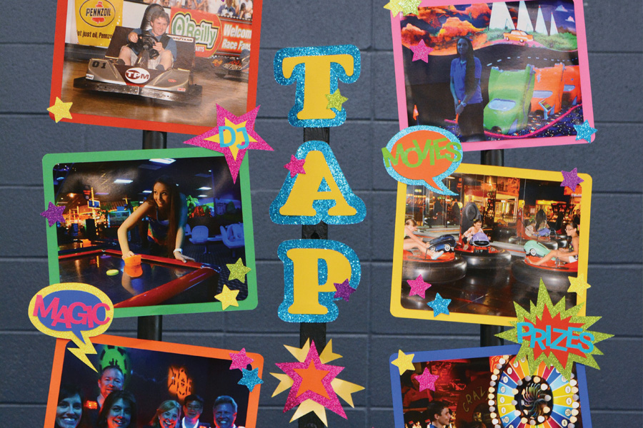 THIS YEAR,  TAP will be hosting several competitions, including family feud, trivia and broomball.
