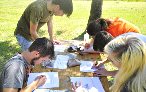 "Envirothon works together as a team to identify different soils found around Klein Collins. ""We go out to these locations and spend all year working on our expertise,"" senior Cassidy Nordeen said. ""It's a lot of work, but the payoff is worth it."""