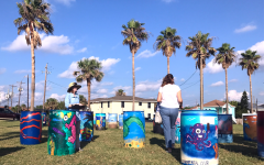 Environmental Club Eliminates Trash at Galveston