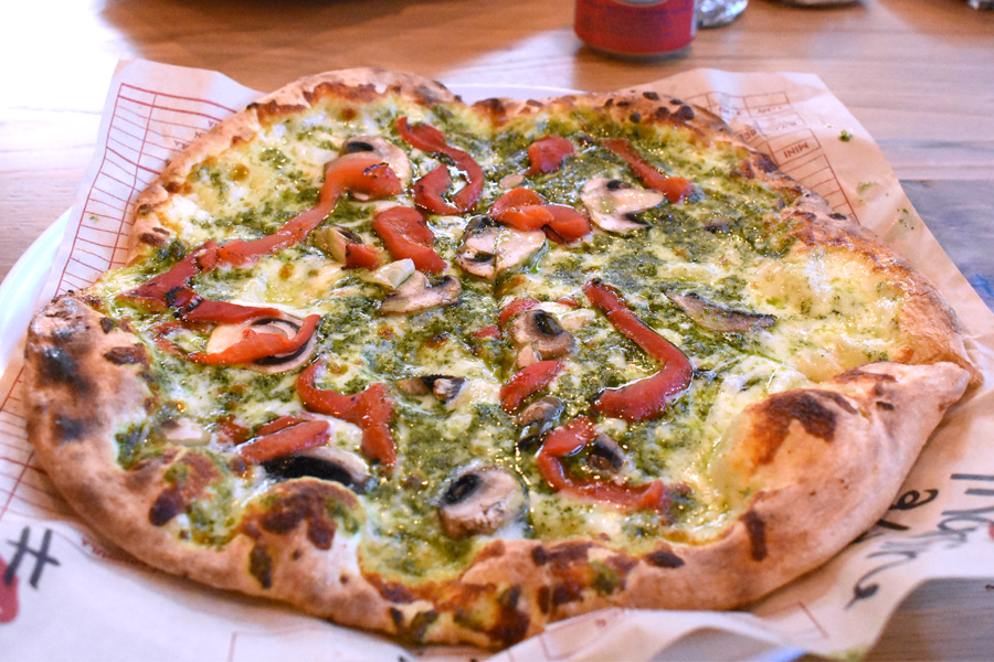 The Tristan is one of nine pizzas offered on the MOD Pizza Classics Menu.