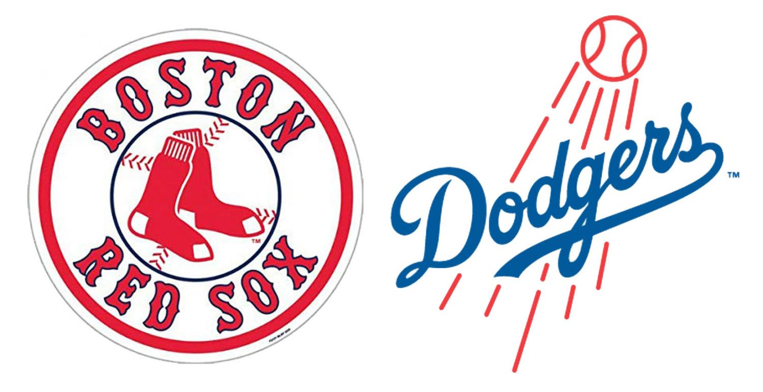 The 2nd seed Los Angeles Dodgers play the 1st seed Boston Red Sox in the 2018 World Series