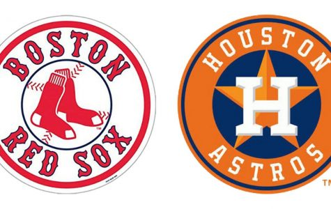 The 2nd seed Houston Astros play the 1st seed Boston Red Sox in the 2018 ALCS.