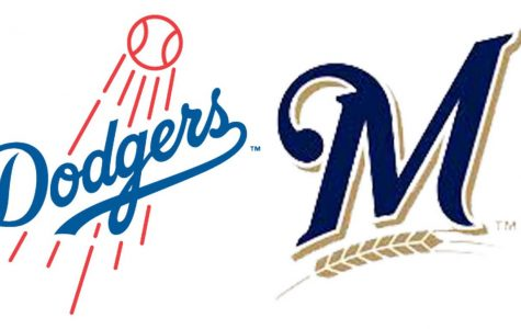 The 2nd seed Los Angeles Dodgers play the 1st seed Milwaukee Brewers in the 2018 NLCS.