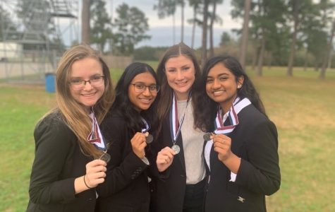 HOSA Conquers Area And Makes State