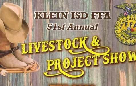 51st Annual Klein ISD FFA Livestock and Project Show