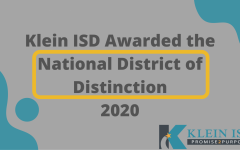 Klein ISD was nationally recognized as a District of Distinction by District Administration magazine for their Innovation Challenges.