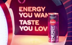 The interactive Amazon Alexa Coca-Cola Energy Wall serves The Coca-Cola Company's first energy drink under the Trademark name in the U.S. – Coca-Cola Energy – at Grand Central Terminal on Monday, Feb. 3, 2020 in New York.