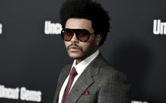 The Weeknd (Abel Tesfaye) appears at the Uncut Gems Premiere on December 12, 2019 at Los Angeles, California. Tesfaye released his album After Hours to critical acclaim this year despite not receiving any Grammy nominations.
