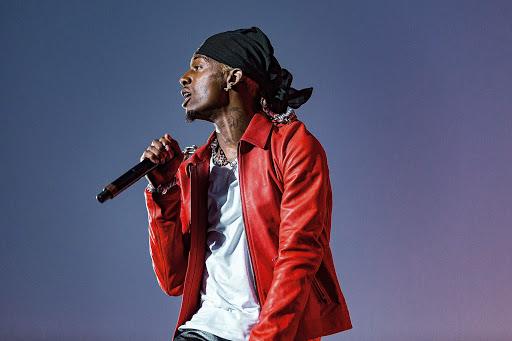 HOUSTON, TEXAS - NOVEMBER 09: Playboi Carti performs during the second annual Astroworld Festival at NRG Park on November 9, 2019 in Houston, Texas. Photo: Trish Badger/imageSPACE/MediaPunch /IPX