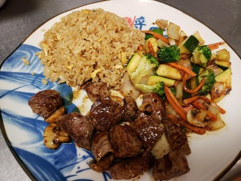 The Teppanyaki Steak with fried rice is a favorite dish at Taisho.
