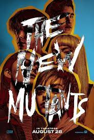 'The New Mutants' 2020 film cover