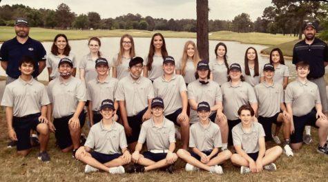 2020-2021 Klein Collins Golf Team Group Photo