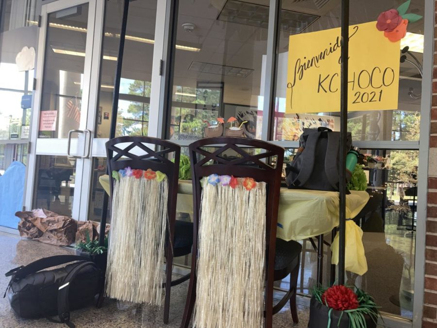 (Photo of the Day 9/24/21) Hawaiian decorations for the Around The World theme for HOCO 2021.